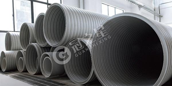 三峰增强结构壁塑料排水管
